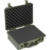Pelicase 1500 OD green with...