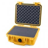 Pelicase 1200 yellow with foam