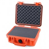 Pelicase 1200 orange with foam