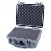 Pelicase 1200 silver with foam