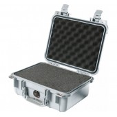 Pelicase 1400 silver with foam