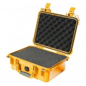 Pelicase 1400 yellow with foam