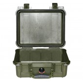 Peli case 1400 OD Green no...