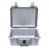 Peli case silver no foam