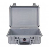 Peli case 1450 silver no foam