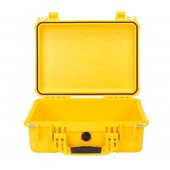 Peli case yellow no foam