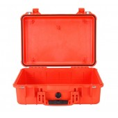 Peli case 1500 orange no foam
