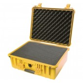 Pelicase 1550 yellow with foam