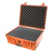 Pelicase 1550 orange with foam