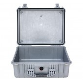 Peli case 1550 silver no foam