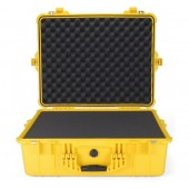 Pelicase 1600 yellow with foam