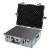 Pelicase 1600 silver with foam