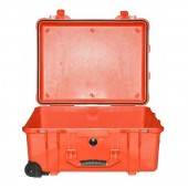 Peli case 1560 orange no foam
