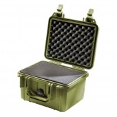 Pelicase 1300 OD green with...