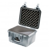Pelicase 1300 silver with foam
