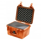 Pelicase 1300 orange with foam