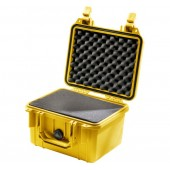 Pelicase 1300 yellow with foam