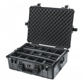 Pelicase 1600 black with foam