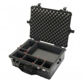 Peli case 1600 black with...