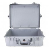 Peli case 1600 silver no foam