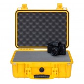 Pelicase 1450 yellow with foam