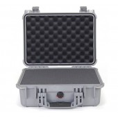 Pelicase 1450 silver with foam