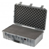 Peli Air 1555 silver with foam