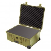 Pelicase 1560 OD green with...
