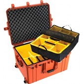 Peli Air 1637 orange with...
