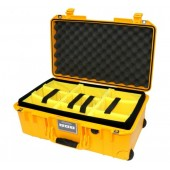 Peli Air 1535 yellow with...