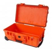 Pelicase 1510 orange no foam