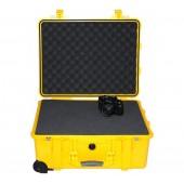 Peli case 1560 yellow with...