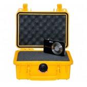 Peli case 1120 yellow w/foam