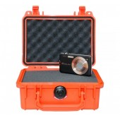 Peli case 1120 orange with...