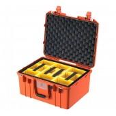 Peli Air 1557 naranja con...