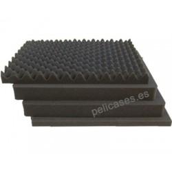 Pick \'N\' Pluck foam & convoluted lid foam for 1600
