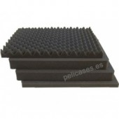 Pick \'N\' Pluck foam & convoluted lid foam for 1600
