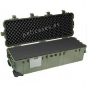 Pelicase 1740 OD green with foam