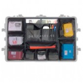 Lid organizer for pelicase 1650