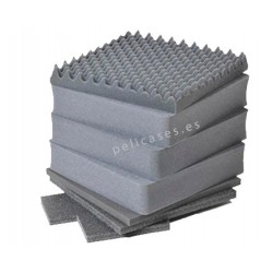 Replacement foam for Pelicase 0340