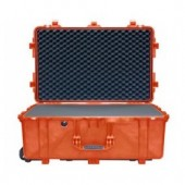 Pelicase 1650 orange with foam